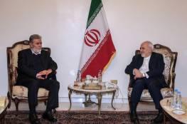 النخالة يلتقي وزير الخارجية الايراني وهذا ما بحثاه..
