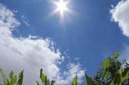 الطقس: الحرارة اعلى من معدلها بـ 3 درجات