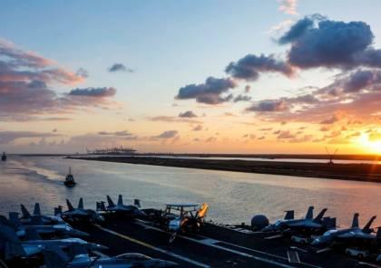 مصادر مطلعة: مجموعة سفن أمريكية ضاربة دخلت مياه بحر العرب