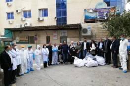 مساعدات طبية وإنسانية لمستشفى بيت جالا الحكومي ولجنة زكاة بيت لحم