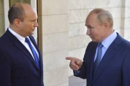 بينيت: روسيا تعتبر جارتنا الشمالية.. وبوتين يتفهم احتياجات إسرائيل الأمنية
