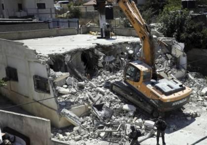 الاحتلال يهدم منزلا في بيت سيرا غرب رام الله