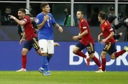 إسبانيا توقف قطار إيطاليا وتبلغ نهائي دوري الأمم الأوروبية (فيديو)