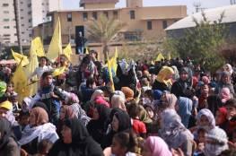 """فيديو وصور.. عشرات الاف الغزيين يشاركون في مهرجان إحياء ذكرى الراحل """"أبو عمار"""""""