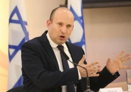 نفتالي بينت: سأدعم فرض السيادة الإسرائيلية بالضفة من المعارضة