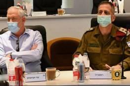 """غانتس وكوخافي: الجيش الاسرائيلي يعمل باستمرار في """"أراضي أعدائنا"""""""