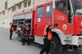غزة: إنقاذ مواطن بعد انهيار بئر