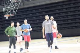 منتخبنا الوطني يواصل معسكره التدريبي استعدادا للتصفيات المؤهلة لنهائيات آسيا بكرة السلة
