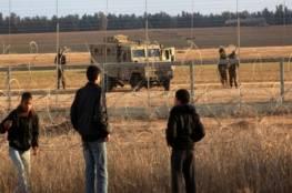 الاحتلال يطلق النار اتجاه الشبان شرق مخيم البريج وسط قطاع غزة