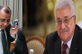 شاهد: الرئيس يهاتف ابراهيم ملحم...