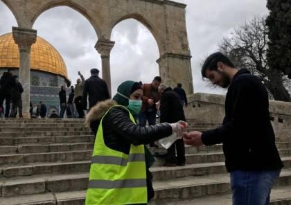 القدس: حالة وفاة و302 إصابة بفيروس كورونا