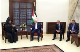 الرئيس: اعياد الميلاد المجيد وطنية لكل الشعب الفلسطيني