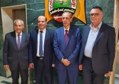 تخصيص حائط للصورة الفلسطينية بمقر اتحاد الصحفيين العرب
