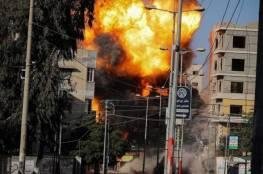 اليوم التاسع: 165 غارة نفذتها الطائراات وغزة والشمال الاكثر تعرضا للقصف