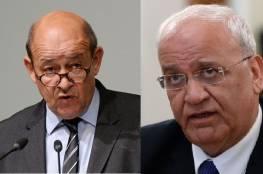 فرنسا: الضم لن يمر دون عواقب على العلاقات بين الاتحاد الأوروبي وإسرائيل