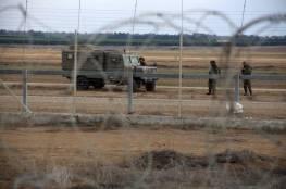 اعتقال 3 شبان على حدود غزة