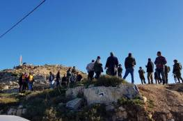 40 اصابة عقب اقتحام الاحتلال جبل العرمة جنوب نابلس