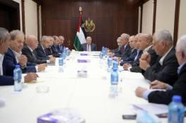 الرئيس يترأس اجتماع تنفيذية المنظمة ويؤكد ضرورة وضع حد نهائي للانقسام والتشكيك بالبرنامج الوطني