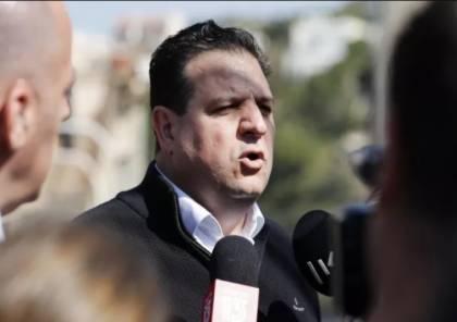 أيمن عودة: يطالب بلجم الجريمة في البلدات العربية