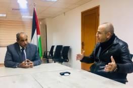 وزير الأشغال يلتقي مجلس إدارة سكان برج المجمع الايطالي