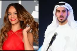 """رصد النجمة ريهانا مع """"حبيبها السعودي الأسبق"""""""