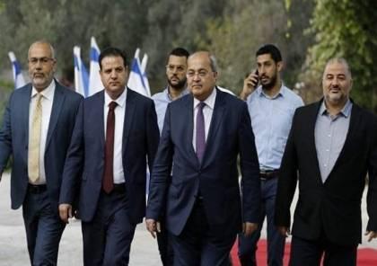 """القائمة المشتركة : سينتهي عهد """"نتنياهو"""" إذا أقمنا حكومة أقلية"""