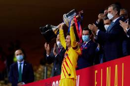 برشلونة يسحق بيلباو برباعية ويتوج بلقب بطل كأس ملك إسبانيا ..فيديو