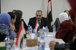 الوفد المصري يعقد سلسلة لقاءات في غزة