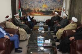 النخالة خلال استقبال تجمع العلماء المسلمين: يد المقاومة على الزناد