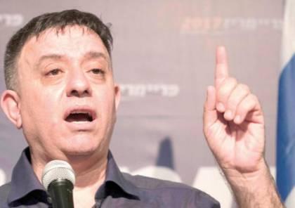 جباي: العرب يفهمون لغة القوة فقط ...ولا شريك على الطرف الآخر