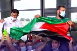 فيديو: هكذا استقبل الجزائريون بطلهم نورين بعد رفضه مواجهة لاعب إسرائيلي