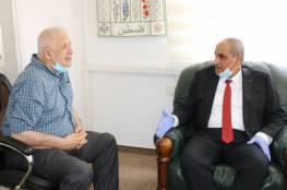 زيارة يبحث مع حنا ناصر مشروع مقر الانتخابات المركزية