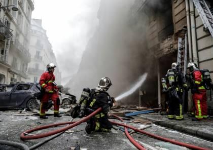 مصرع 4 اشخاص واصابة آخرين في انفجار قوي بمخبز في باريس