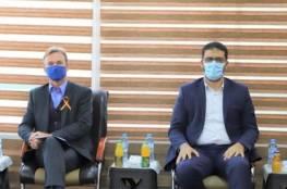 """""""أبو الريش"""":نقاوم الفيروس في ظل إجراءات معقدة ناجمة عن الحصار"""