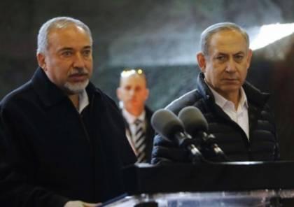 ليبرمان يتحدث عن صواريخ المقاومة واصرار على اتفاق شامل حول نهاية لعبة قطاع غزة!