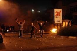 عشرات الإصابات بمواجهات مع الاحتلال شمال القدس