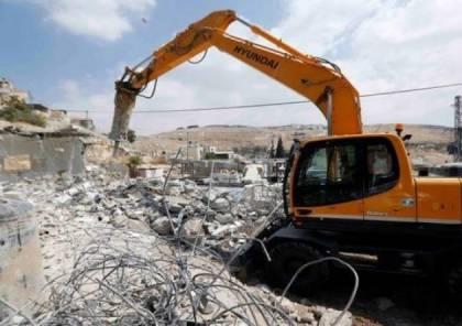 الاحتلال يهدم غرفة زراعية جنوب بيت لحم