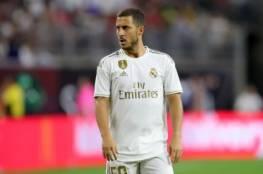 أنشيلوتي غاضب بشدة من هازارد في ريال مدريد!