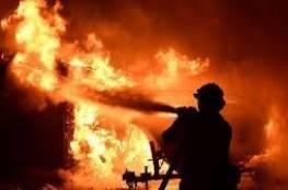 الاحتلال: احراق قاعدة عسكرية في الخليل وخسارة معدات متطورة وملايين الشواكل