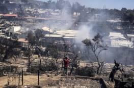 حريقان في مخيم لطالبي اللجوء في اليونان