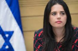 شاكيد: ليس هذا الوقت لإعادة احتلال غزة وتدمير حكم حماس