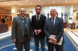 الاحمد : اعتذر فشلنا في التوصل لاتفاق في موسكو و ابو مرزوق يكشف نقاط الاتفاق والاختلاف