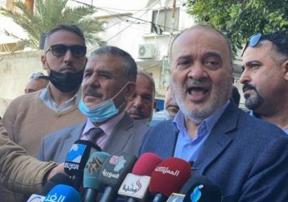 القدوة:سألتقي حماس والجهاد.. ومروان البرغوثي سيترشح للرئاسة الفلسطينية