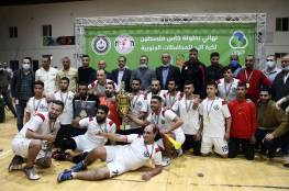 اتحاد دير البلح يحصد لقب كأس اليد