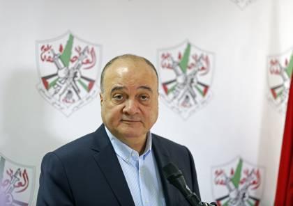 القدوة: هدفنا إنجاز الاستقلال الوطني بدولة فلسطين.. وخطة ترامب تستند إلى فكرة اسرائيل الكبرى