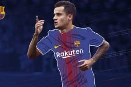 رسمياً.. برشلونة يتعاقد مع فيليب كوتينيو