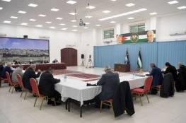 الرئيس يترأس اجتماعا للجنة المركزية لحركة فتح