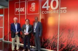 فتح تشارك في مؤتمر الحزب الاشتراكي العمالي في اسبانيا