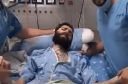 مطالبة اسرائيلية بإقالة ممرضين تصورا مع الأسير القواسمي بمستشفى كابلان