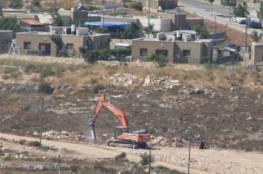 الاحتلال يصادق على توسيع شارع ستيطاني على اراضي قلقيلية